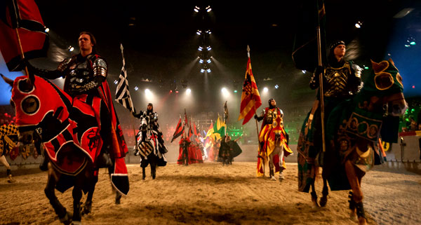 Medieval Times Dinner and Tournament Show!